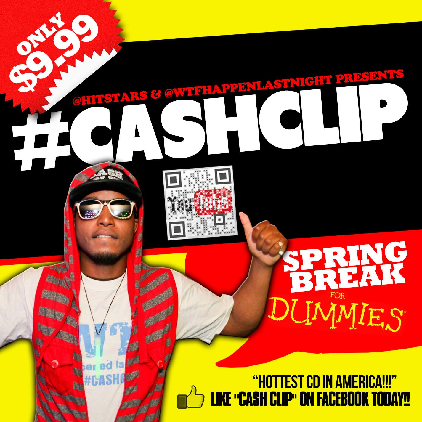 CASH CLIP SPRING BREAK FOR DUMMING WTF HAPPENED LAST NIGHT